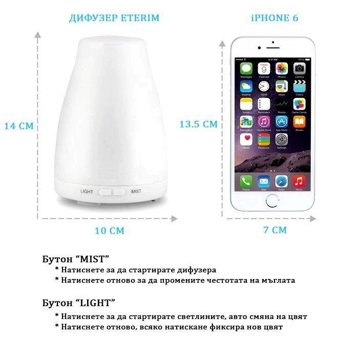 Диффузор для ароматерапии с эфирными маслами - интернет-магазин - buyoutside