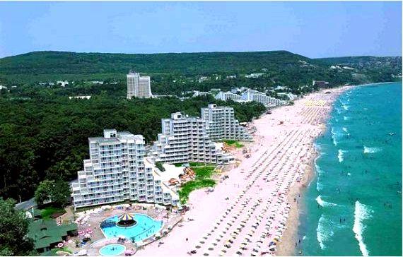 Болгарское побережье черного моря - часть 1 (северное побережье черного моря)