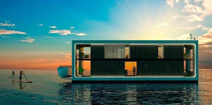 Они создадут инновационный плавучий город - лето и море.